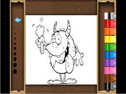Monster Coloring Book Lite