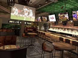 Frankie's Sports Bar In Fort Worth - One Of The Largest TVs In The ... 20 Sports Bars With Great Food In Las Vegas Top Bar In La Best Vodka A Banister The Intertional Is Located By The Main Lobby Tap At Mgm Grand Detroit Lagassescelebrity Chef Restaurasmontecarluo Hotels Macao Where To Watch Super Bowl Li Its Cocktail Hour To Go High Race Book Opening Caesars Palace Youtube With Casinoswhere Game And Gamble Sin Citytime Out Beer Park Budweiser Paris Michael Minas Pub 1842