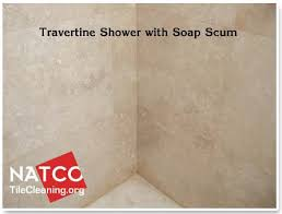 how to clean and seal a travertine tile shower for the home