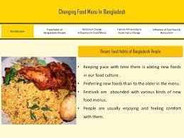 cuisine chagne food menu in bangladesh