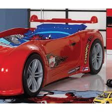 chambre voiture garcon lit enfant turbo lit voiture avec phares fonctionnant décors