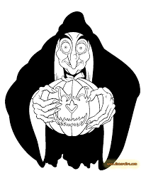 Disney Halloween Coloring Pages 5