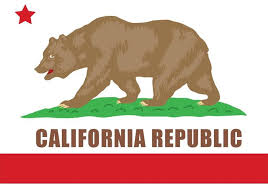 California Bear Vector