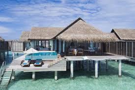100 Kihavah Villas Maldives Anantara Sunset Over Water Pool