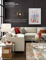 Crate And Barrel Axis Sofa by Living Room Surprising Crate And Barrel Apartment Sofa Photo