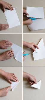 Step By Instructions To Make Snowflakes