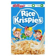 Rice Krispie Christmas Trees Uk by Kellogg U0027s Rice Krispies Cereal 340 G Pack Of 8 Amazon Co Uk