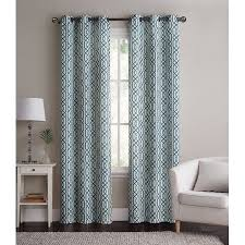 Walmart Grommet Blackout Curtains by 2 Pack Vcny Home Alexander Energy Saving Hotel Quality Grommet