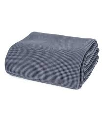 jet de canap jeté de canapé gris jet de canap couvre lit gris 100 coton plaid