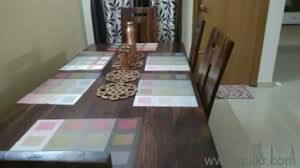 PREMIUM 6 Seater Solid Wood Dining Table Rarely Used