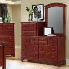 Vaughan Bassett Dresser With Mirror by 10 Drawer Dresser With Vertical Mirror By Vaughan Bassett Wolf