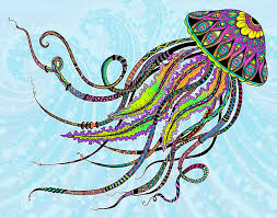 Stylish Inspiration Ideas Jellyfish Animal Coloring Pages Have A Floating Fun With