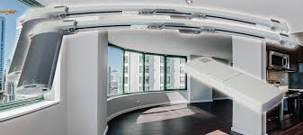 Motorized Curtain Track Manufacturers by Motorized Electric Curtain Track System Automation Mega Center