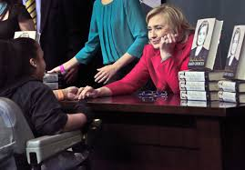 Thud: Hillary Rodham Clinton's Tone-deaf Remark On Her Money Woes ... Maria Sharapova Signing Her Book At Barnes Noble In Nyc U2 Book For Alyssa Milano And New York Ivanka Trump On 5th Avenue 1014 Chris Colfer Signs Copies Of His Jimmy Fallon Barnes And Noble Book Signing In 52412 With Tamsen Fadal The Single Photos Images Getty Ny Usa 14th Apr 2016 Marie Osmond Instore Stock Taraji P Henson Her Mike Tyson Tysons Indisputable Truth Signing