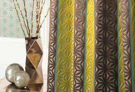 tissu pour rideaux à motif en soie jacquard grandis