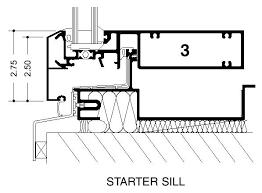curtainwall start sill jpg 597 440 curtainwall starter sill