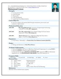 Electro Mechanical Technician Resume Sample Http Engineering Examples