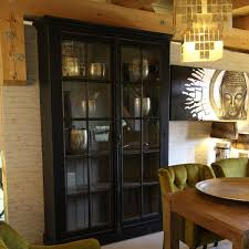 landhausmoebel victors home glasvitrine glasschrank