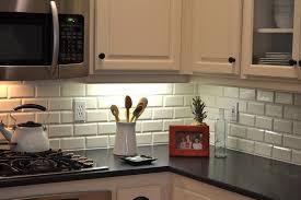 beveled subway tile backsplash kitchen traditional with colors