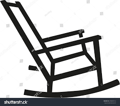 Rocking Chair Silhouette เวกเตอร์สต็อก (ปลอดค่าลิขสิทธิ์) 499833112 ... Trex Outdoor Fniture Yacht Club Charcoal Black Patio Rocker Stille Rocking Chair Rockn Roll Structure For Original Pouffe By Fatboy Monet Rattan Walker Edison Llc Chevron Grey Wash Silhouette 499833112 Wicker Dark Brown At Home Italian Vintage Rocking Chair In Black Leather Outsunny Porch Wooden Presidential