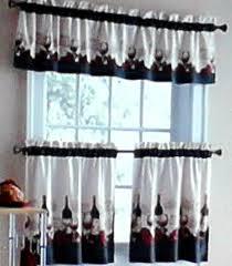 Wine Kitchen Decor Sets by Vineyard Merlot Chablis Chateau Wine Kitchen Curtains Tiers