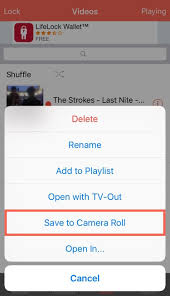 How to Save Videos Directly to Your iPhone s Camera Roll
