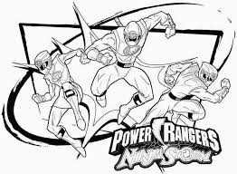 Power Rang Gallery One Ranger Coloring Pages