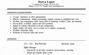 Gallery Of Resume Examples Linkedin