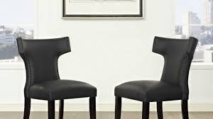 Wayfair Upholstered Dining Room Chairs by Black Upholstered Dining Chairs From Elegance And Functionality