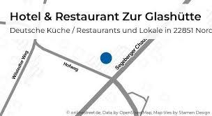 hotel restaurant zur glashütte segeberger chaussee in