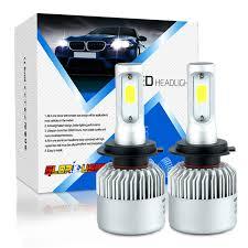 car led light h11 h7 h4 h1 h3 9005 9006 led bulb headlight 72w