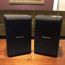 Pioneer CS X580 K Bookshelf Speakers 2000s Black