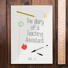 Personalised Academic Diary 201617 Teaching Assistant