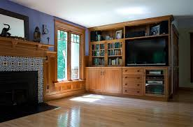 Image Of Living Room Cabinets Wood