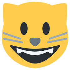 Smiling Cat Emoji Transparent PNG
