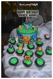 blockman go theme cake for prince lucia s sweet delight