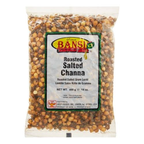 Bansi Roasted Salted Chana 14.1 oz.