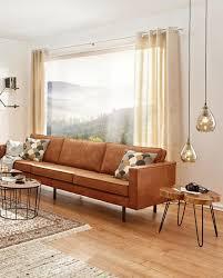 dreisitzer sofa lederlook braun jetzt nur xxxlutz
