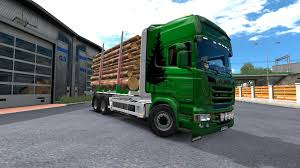 SCANIA TIMBER + SKIN 1.30.2.9 TUNING MOD | Allmods.net