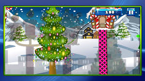 Angry Grinch Stealing Christmas Swing Swinging Away With The Presents FREE Screenshot 4
