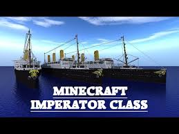 Minecraft Titanic Sinking Map by Rms Majestic Ex Bismarck Imperator Class Minecraft Project