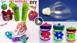 50 Creative Ways To Make Crafts By Recycling Plastic Bottles