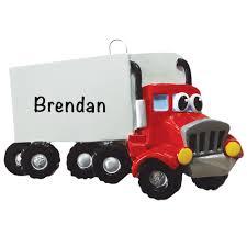 100 Semi Truck Toy Personalized Ornament
