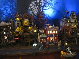 Lemax Halloween Village Ebay by Holiday Joy Magazine Department 56 Halloween Village Description