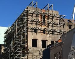 100 Architecture Gable Mackintosh Building Gable Stabilisation Efforts Conclude