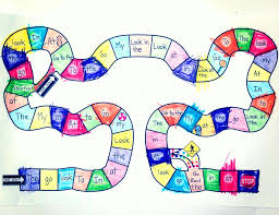 Blank Candyland Game Board Template