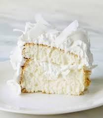 Coconut Cloud Cake Martha Stewart Living This light flavorful dessert filled and topped with seven minute frosting and coconut is a little slice of