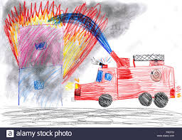 Fire Truck Rescues Burning House. Child Drawing Stock Photo ... Collection Of Fire Truck Line Drawing Download Them And Try To Solve Hand Draw Fire Engine Stock Vector Illustration 85318174 Apparatus Doylestown Company How Engine For Kids Step By Firetruck 77 Transportation Printable Coloring Pages Truck Beautiful Image Drawing Skill A Youtube Vector Stock Marinka 189322940 School 1617 Pinte Easy Spladdle Draw Easy Step For Kids