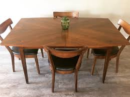 American Of Martinsville Dining Set Refinished By REVIVE MODERN