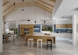 villa cuisine luminaire pour ilot de cuisine 3 projet de villa avec toit
